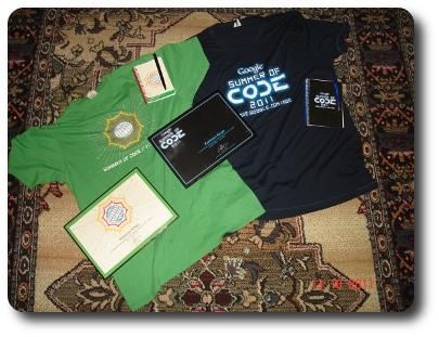 GSoC 2010 & 2011 Memorabilia