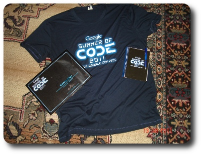 GSoC 2011 Memorabilia