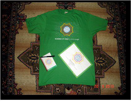 GSoC 2010 Memorabilia