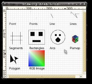 GtkDrawingArea Grid Example
