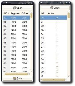 Emu8086 Hardware Interrupt Editor & Generator Screenshot