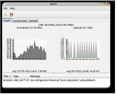 Graphs panel for garm 0.1