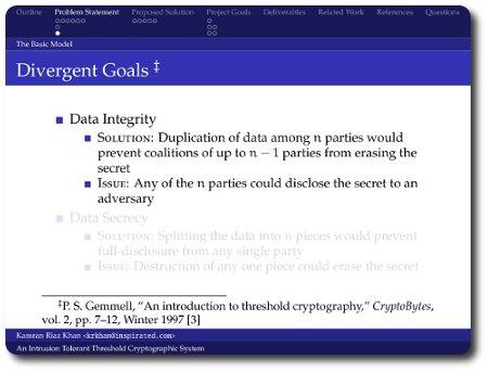 Presentation Screenshot