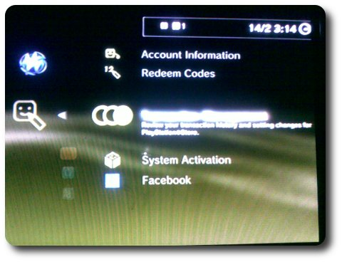 PSN SSL Trick Screenshot