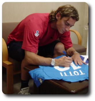 Totti Autograph