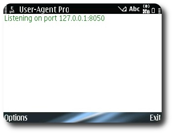 User-Agent Proxy Screeshot