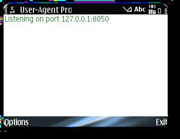User-Agent Proxy Screeshot