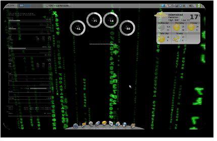Xfce Matrix Screenshot #1