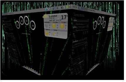 Xfce Matrix Screenshot #2